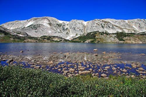 Medicine Bow Peak from Lewis Lake