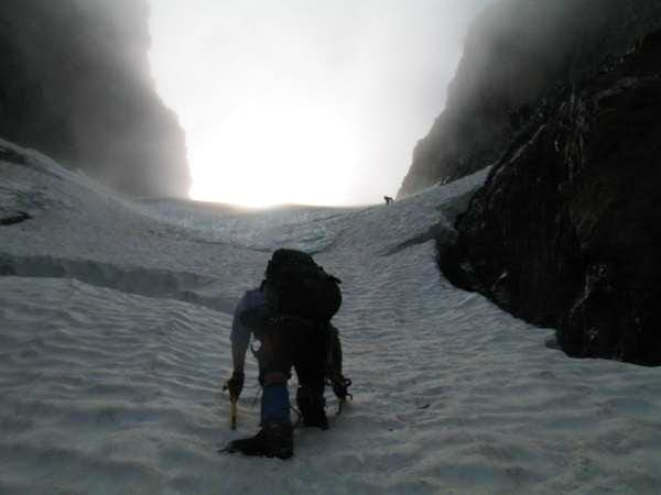 Entering the Ice Pitch