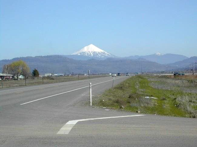 A view of Mt. McLoughlin from...