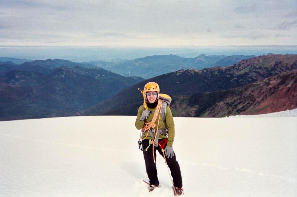 Me on the Coleman Glacier