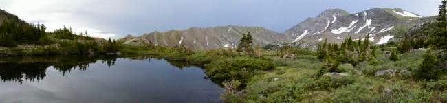 Eureka Mountain from the...