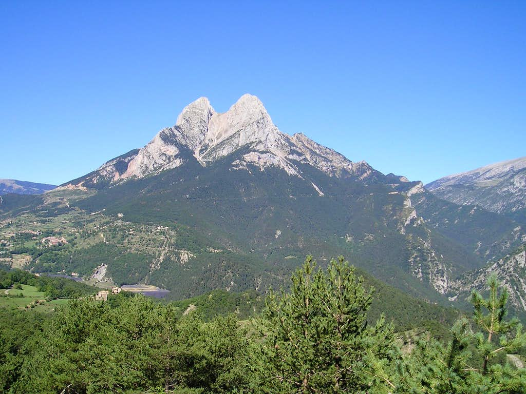 Classic view of Pedraforca
