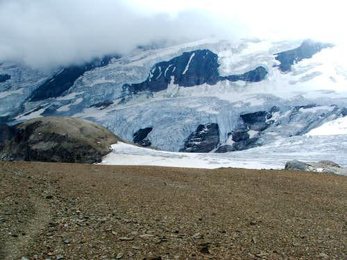 Teufelskamp and Glockner glacier