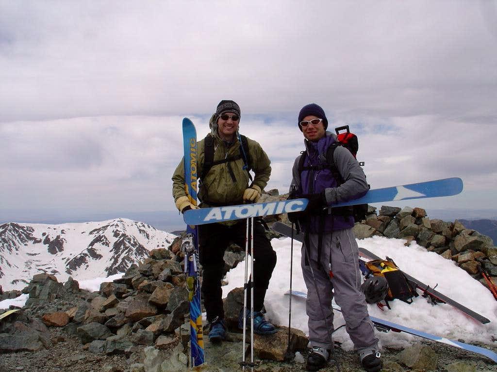 Atomic and Wheeler Peak