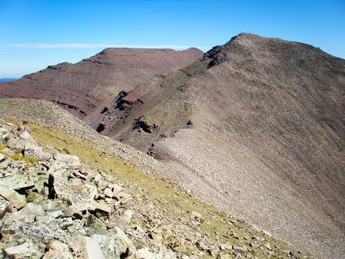 South ridge of Porcupine