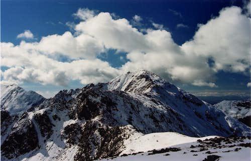 Lake Fork Peak from Kachina