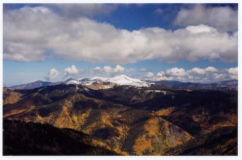 Gold Hill, fall