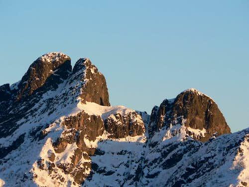 west ridge of Mount Pedum