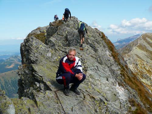 Fore summit of Baníkov (2178 m)