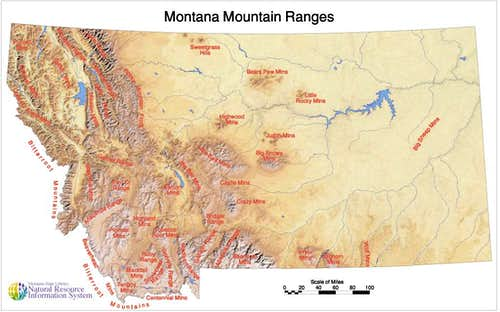 Montana Ranges  Climbing Hiking Amp Mountaineering