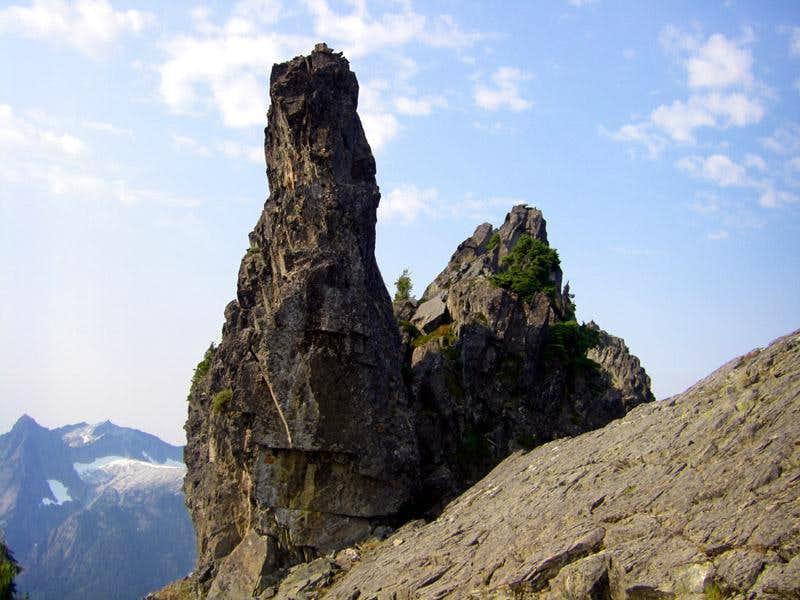 West Peak summit