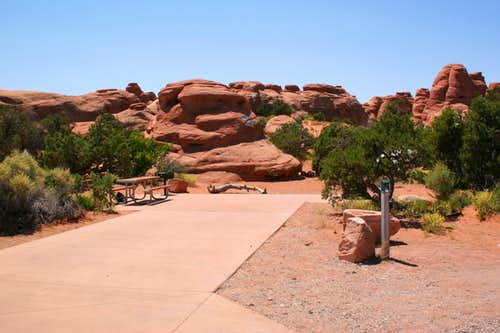 Arches Campground