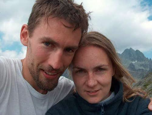Tatras, 2004; Dorota's knee hurt...