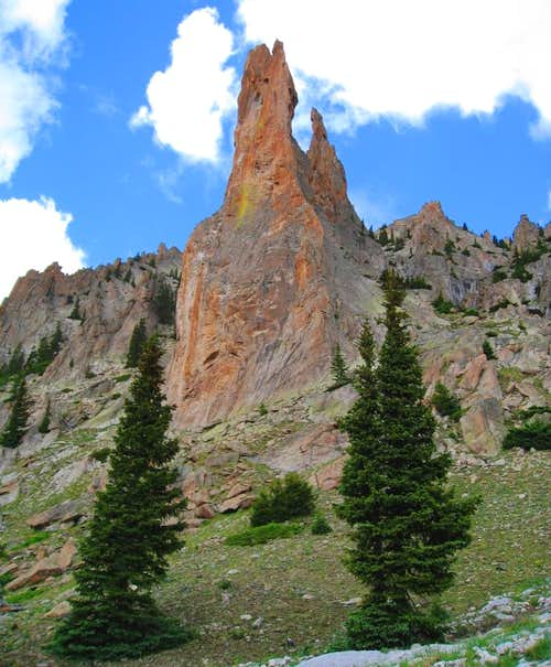 Nellie Creek Spire