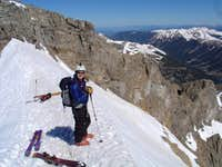 Top of Grizzly Couloir