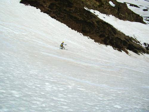 Grizzly Lake Basin ski
