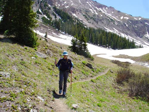 Grizzly Lake Basin hike