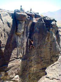 5.11a at Fossil Falls