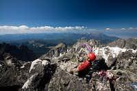 Damon Vrabel on summit
