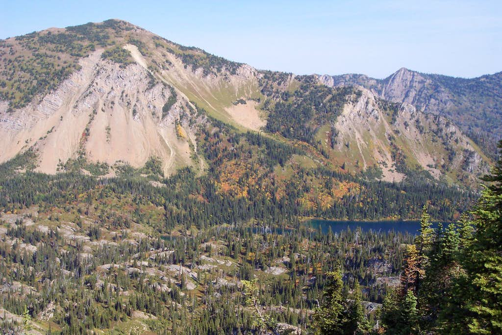 Mount Aeneas and Birch Lake