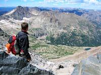 Contemplating Glacier Gorge