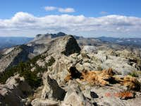 Tuolumne Peak Summit View