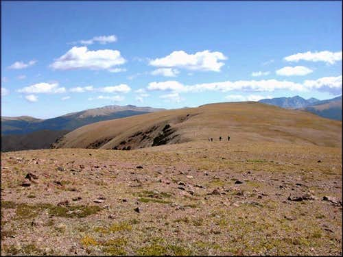 The East Ridge of Iron Mountain