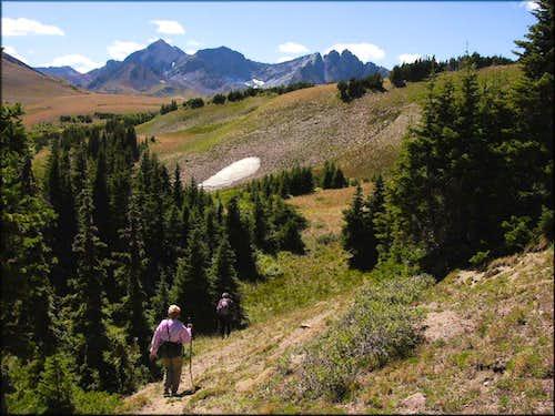 Descending Iron Mountain