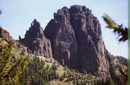 Fifes Peak (East Peak)
