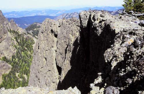 North Face of West Peak