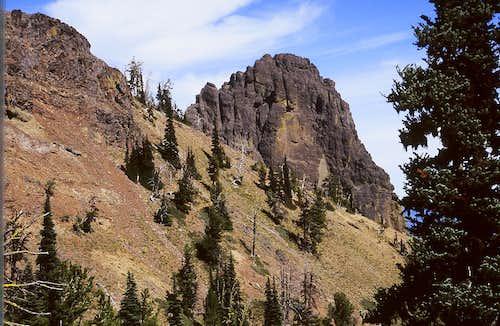 East Peak of Fifes Peaks