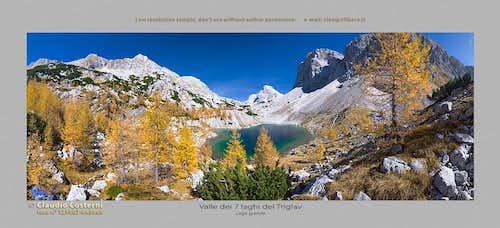 Valle dei 7 laghi del Triglav, lago grande