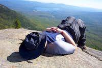 Snoozing on West Peak
