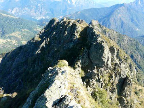 ridge of Mount Lidesh