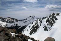 East ridge of Lake Fork Peak