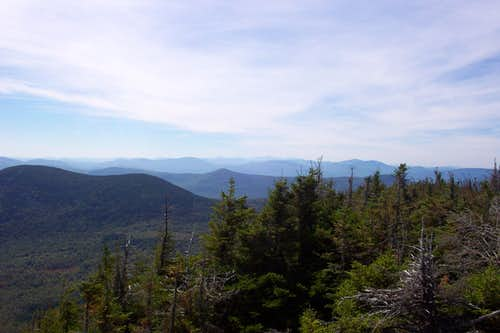 View of Tumbledown, West Peak