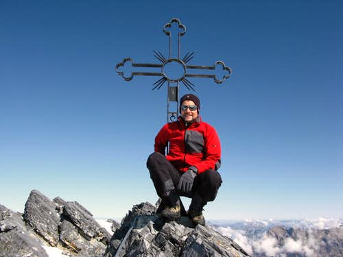 Summit of Grand Muveran 3051m