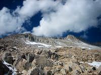 Summit block of Snowmass Mountain