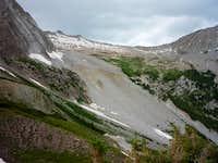 Snowmass Mountain boulder field 2