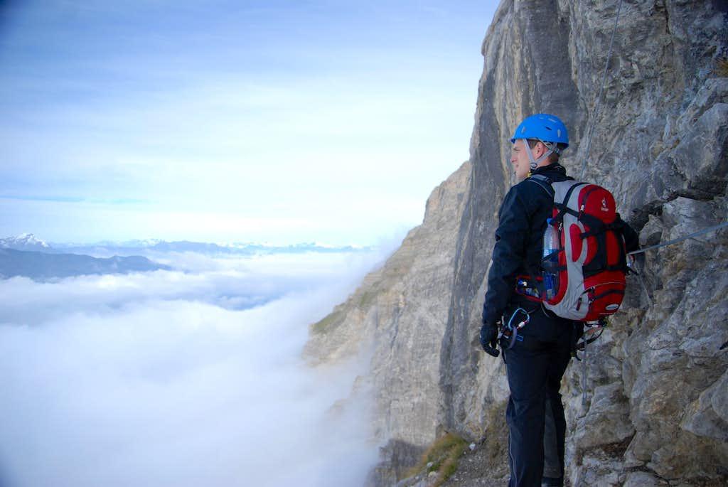 Climbing Senda Verticala