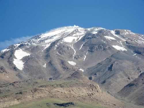 Damavand South Face Route