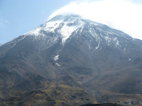 Damavand West Face Route