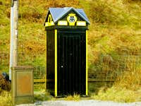 Cappercleuch - AA Phone Box