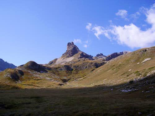 Upper part of Valle Stretta