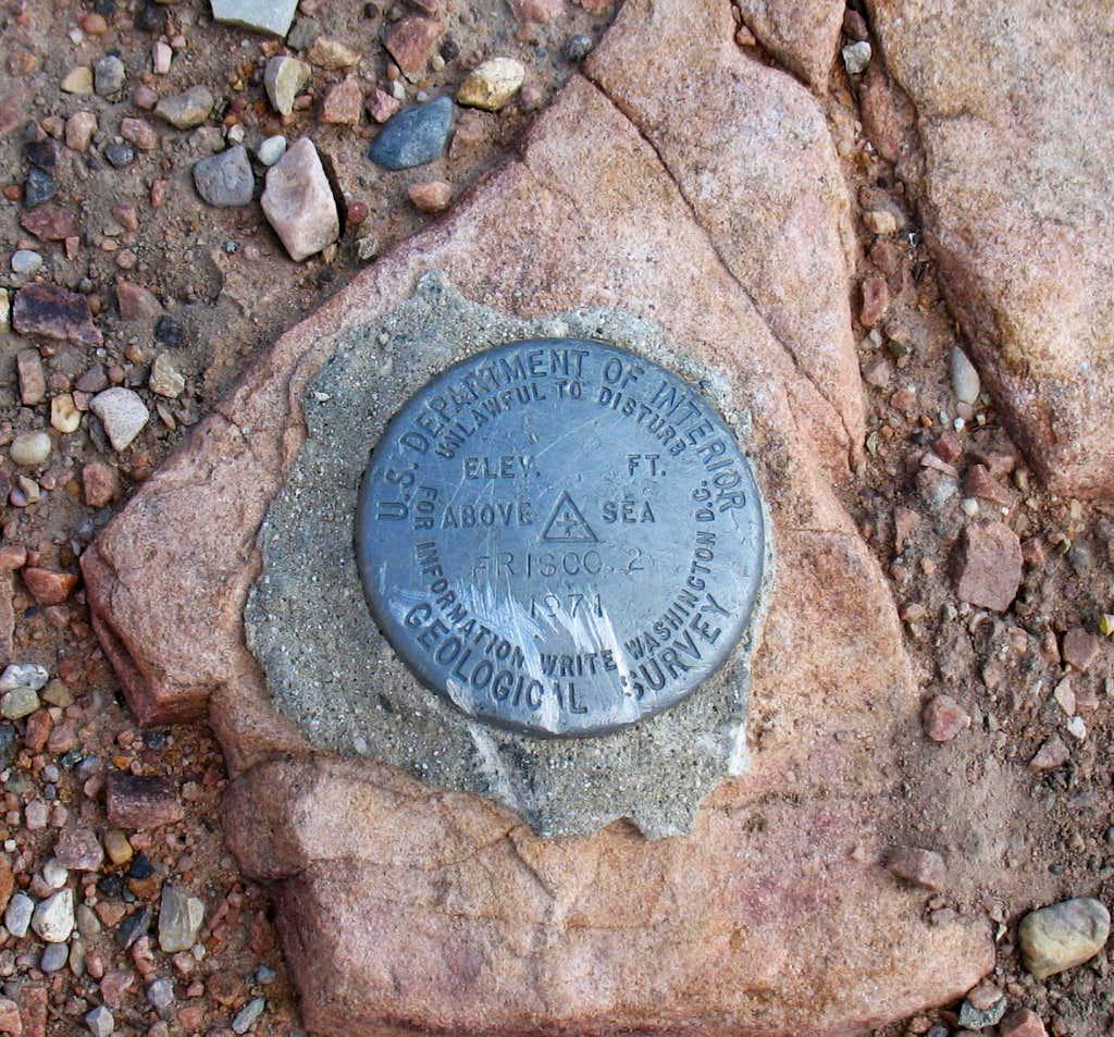 Frisco Peak Benchmark (UT)