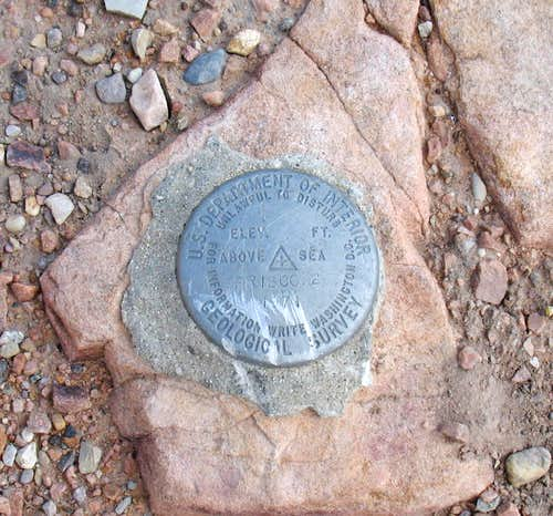 Frisco Peak Benchmark (UT)