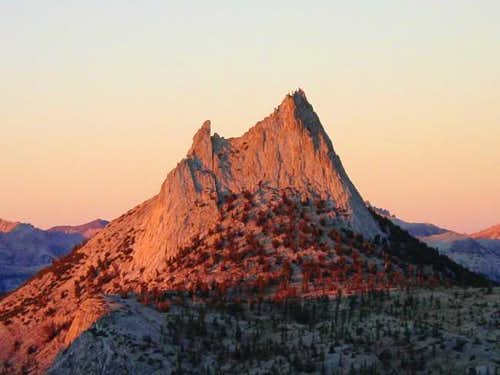 Sunset on Cathedral Peak