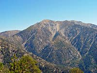 Mountain Views - Mount San Antonio (Baldy) - 10,068 feet