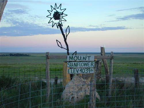 Mount Sunflower, KS