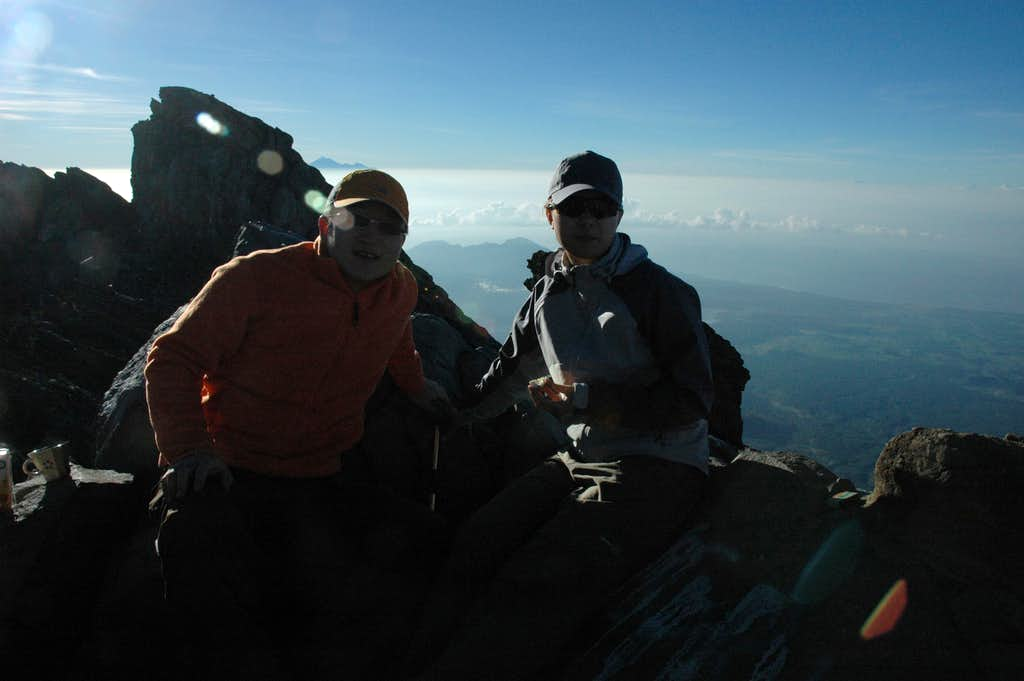 Summit of Mount Agung